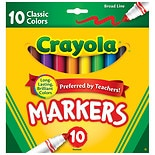 Crayola Markers Broad Line Classic