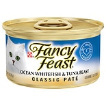 Fancy Feast Classic Gourmet Cat Food Ocean Whitefish & Tuna