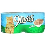 9 Lives Canned Cat Food 4 Pack Super Supper
