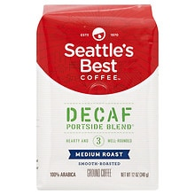 Seattle's Best Coffee Decaf Ground Coffee, Level 3