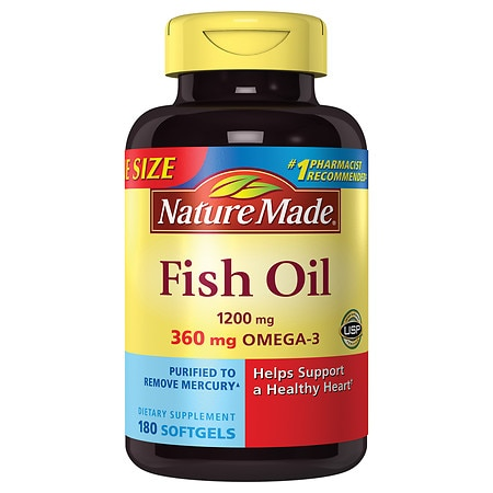 Nature made fish oil 1200 mg walgreens for How is fish oil made