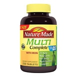 Nature Made Multi Complete Dietary Supplement Tablets