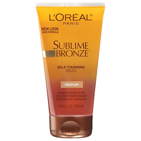 L'Oreal Paris Sublime Bronze Self-Tanning Gelee Medium Natural