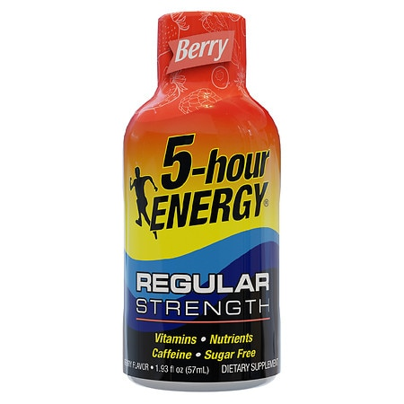 5-Hour Energy Dietary Supplement Liquid Shot Berry