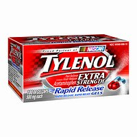 Tylenol Rapid Release Gels