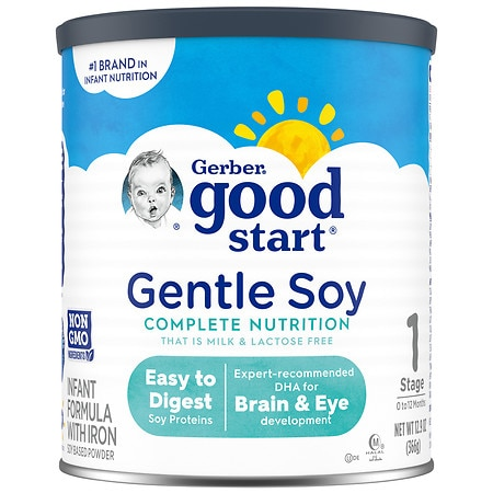 Nestle Good Start Supreme DHA & ARA Soy Good Start Soy Plus Soy Based Infant Formula Powder with Iron makes 182 oz