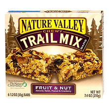 Chewy Trail Mix Bars 6 Pack