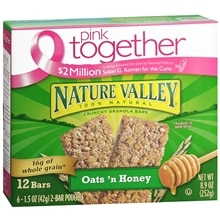 Crunchy Granola Bars 12 Pack