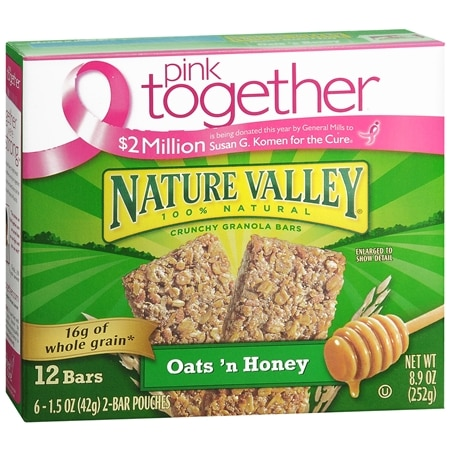 Nature Valley Crunchy Granola Bars 12 Pack