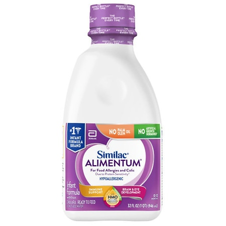 Similac Alimentum Expert Care, Hypoallergenic Infant Formula with Iron, Ready to Feed