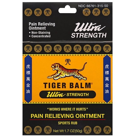 Tiger Balm Ultra Sports Rub - 1.7 oz.
