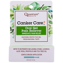 Quantum Health Herbal Canker Care + Oral Pain Reliever