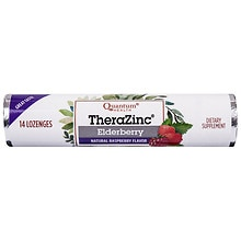 Zinc Elderberry Lozenges Raspberry