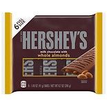 Hershey's Milk Chocolate with Almonds Candy Bars 6 Pack Almond