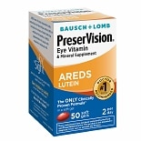 PreserVision Eye Vitamin and Mineral Supplement with AREDS Lutein, Softgels