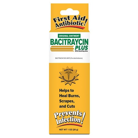 Bacitraycin Plus First Aid Antibiotic Ointment