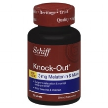 Knock-Out Dietary Supplement Tablets