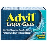 Advil Liqui-Gels Ibuprofen Pain Reliever/  Fever Reducer Capsules, 200mg