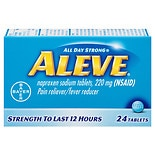 Aleve All Day Strong Pain Reliever, Fever Reducer, Tablets