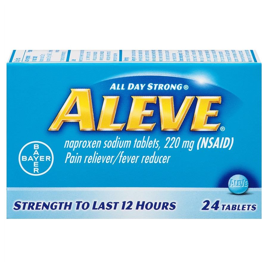 aleve all day strong pain reliever, fever reducer, tablets | walgreens