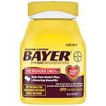Bayer Aspirin Pain Reliever, 325mg Tablets, Easy Open Cap, Value Size
