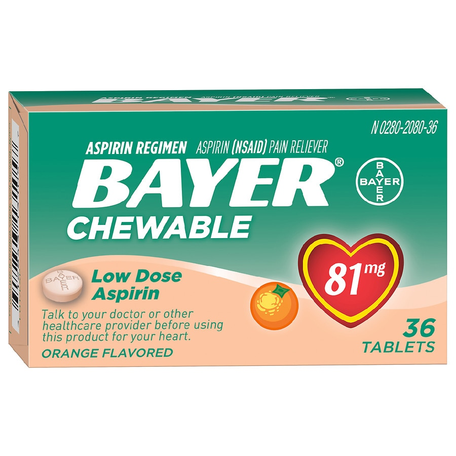 Pleasant Bayer Low Dose Aspirin Pain Reliever 81 Mg Chewable Tablets Orange Machost Co Dining Chair Design Ideas Machostcouk