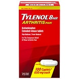 TYLENOL 8 Hr Extended Release Pain Reliever & Fever Reducer Caplets 650 mg