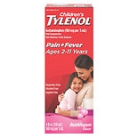 Children's TYLENOL Pain + Fever Oral Suspension Bubblegum