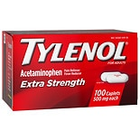 TYLENOL Extra Strength Pain Reliever & Fever Reducer 500 mg Caplets
