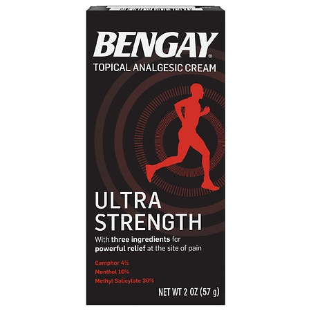 Image of BenGay Pain Relieving Cream, Ultra Strength, Non-Greasy - 2 oz.