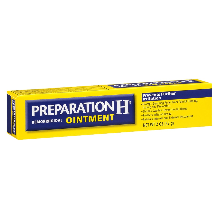 Preparation H Hemorrhoidal Ointment Walgreens