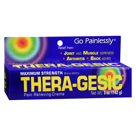 Thera-gesic Maximum Strength Pain Relieving Creme - 5 oz.