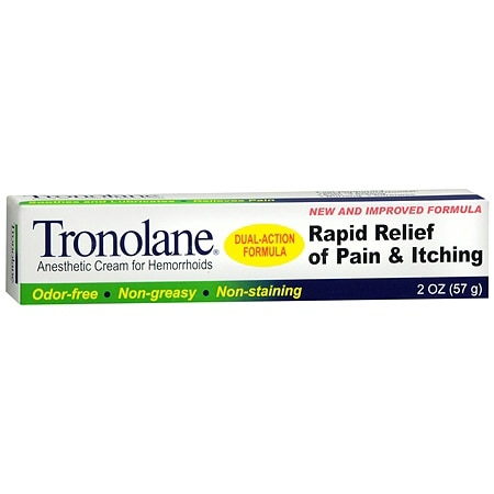 Tronolane Anesthetic Hemorrhoid Cream - 2 oz.