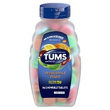 Tums Extra Strength 750 Antacid/ Calcium Supplement Chewable Tablets Assorted Fruit