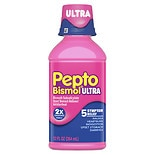 Pepto-Bismol Liquid Ultra for Nausea, Heartburn, Indigestion, Upset Stomach, and Diarrhea Original