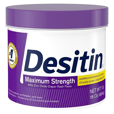 Desitin Diaper Rash Original Paste - 16 oz.