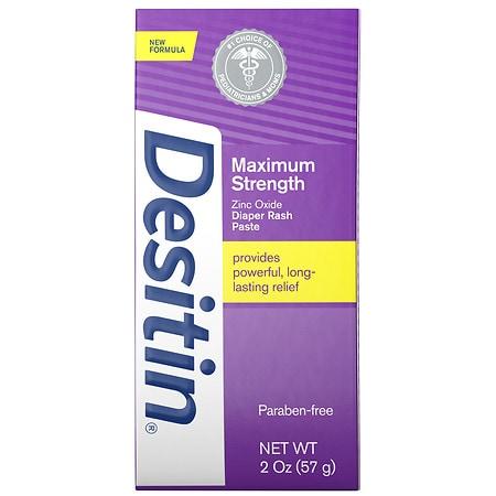 Desitin Maximum Strength Baby Diaper Rash Cream - 2 oz.
