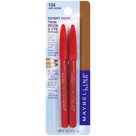 Maybelline ExpertWear Twin Brow & Eye Pencils - 1 pr