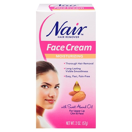 Nair Moisturizing Face Cream Hair Remover