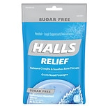 Halls Sugar Free Cough Suppressant Drops Mountain Menthol