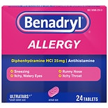 Benadryl Allergy Ultratabs Tablets