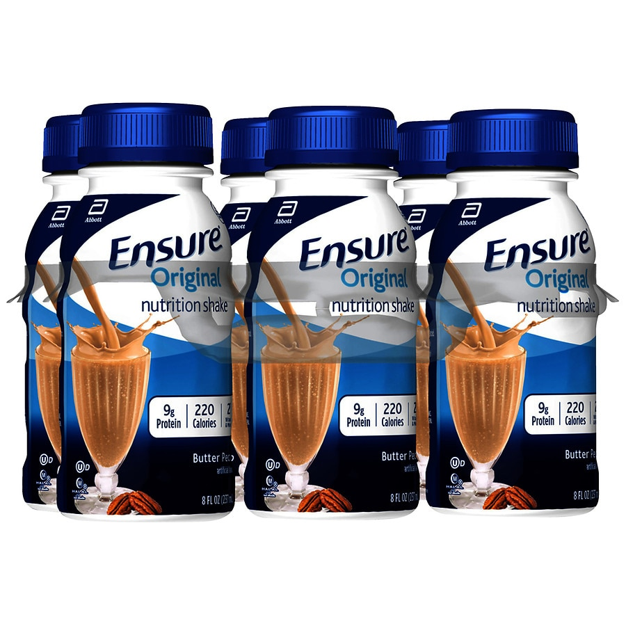 Ensure Original Nutrition Shake Ready-to-Drink Butter Pecan