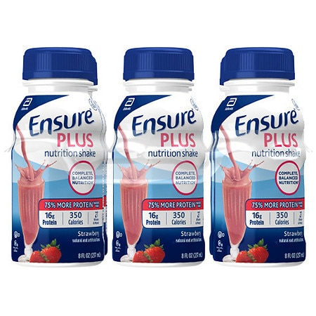 Ensure Plus Nutrition Shake Strawberry