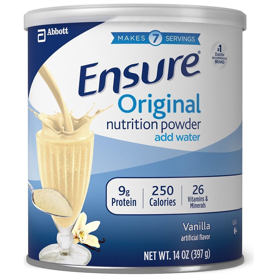 Ensure Nutrition Shake Powder Vanilla | Walgreens