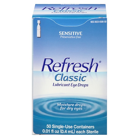 Refresh Classic, Lubricant Eye Drops