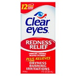 Clear eyes Redness Relief Lubricant Eye Drops