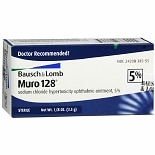 Muro 128 5% Sterile Ophthalmic Ointment