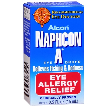 What are the best allergy eye drops