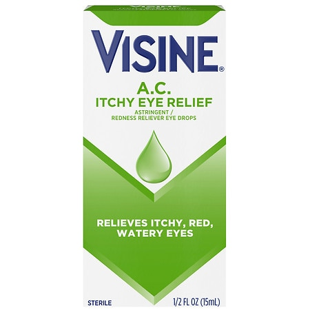 Visine A.C. Ultra Itchy Eye Relief Eye Drops - 0.5 fl oz
