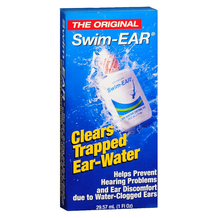 Swim ear ear water drying aid drops walgreens for What causes ear infections from swimming pools
